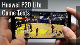 Huawei P20 Lite Gaming Tests (NBA2K18, ROS, TEKKEN)