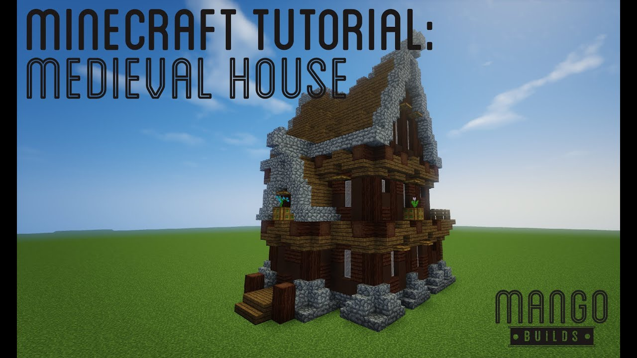 How To Build A Basic House Minecraft