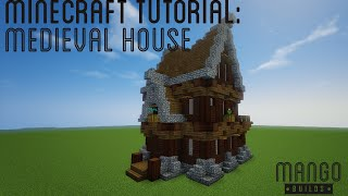 How to Build: Simple Medieval House in Minecraft 1 9 YouTube