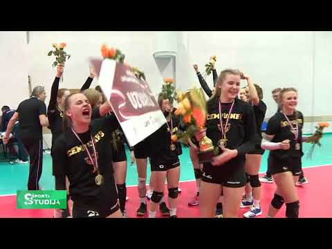 Rīgas Volejbola skola Latvijas čempiones volejbolā