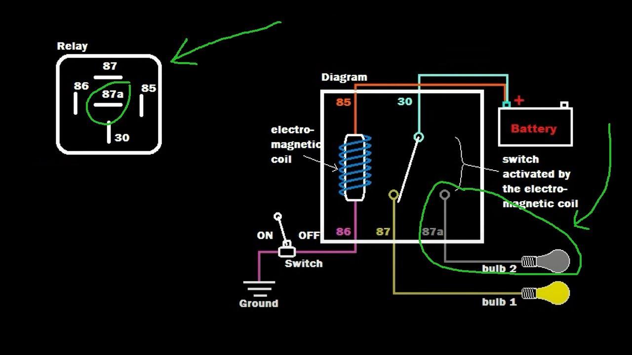 Relay Tutorial: 5 Pin Vs 4 Pin Wiring (Example 1)