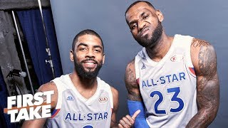 Kyrie joining the Lakers would 'save the end' of LeBron's career - Max Kellerman | First Take