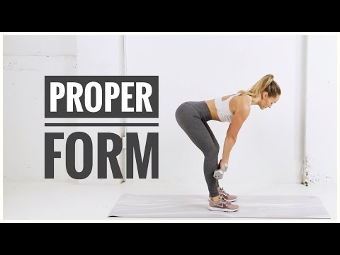 How To: Proper Form + Common Exercise Mistakes