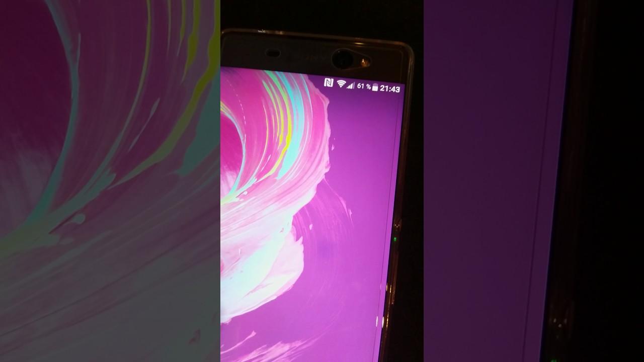 Sony Xperia XA Ultra (F3216) - Display Fehler