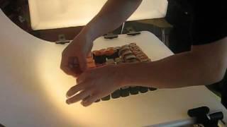 Выкладка гиганского суши сета(, 2010-07-14T21:28:07.000Z)