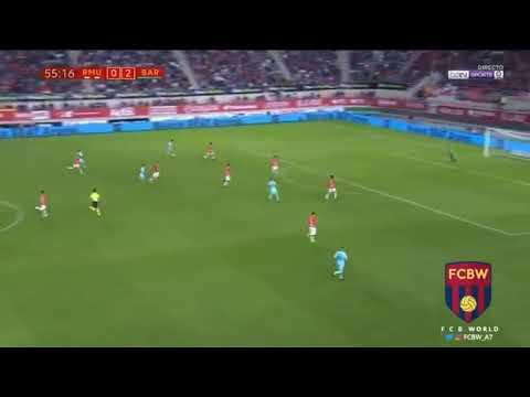 Murcia 0-3 Barcelona GOL ARNÁIZ