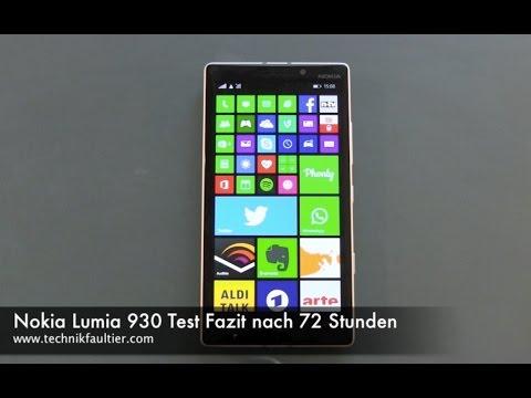 Nokia Lumia 930 Test Fazit nach 72 Stunden