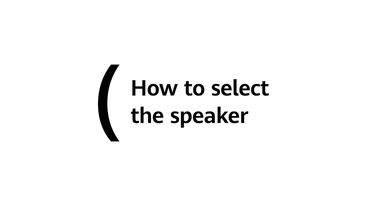 How to select the speaker   HUAWEI MateView GT