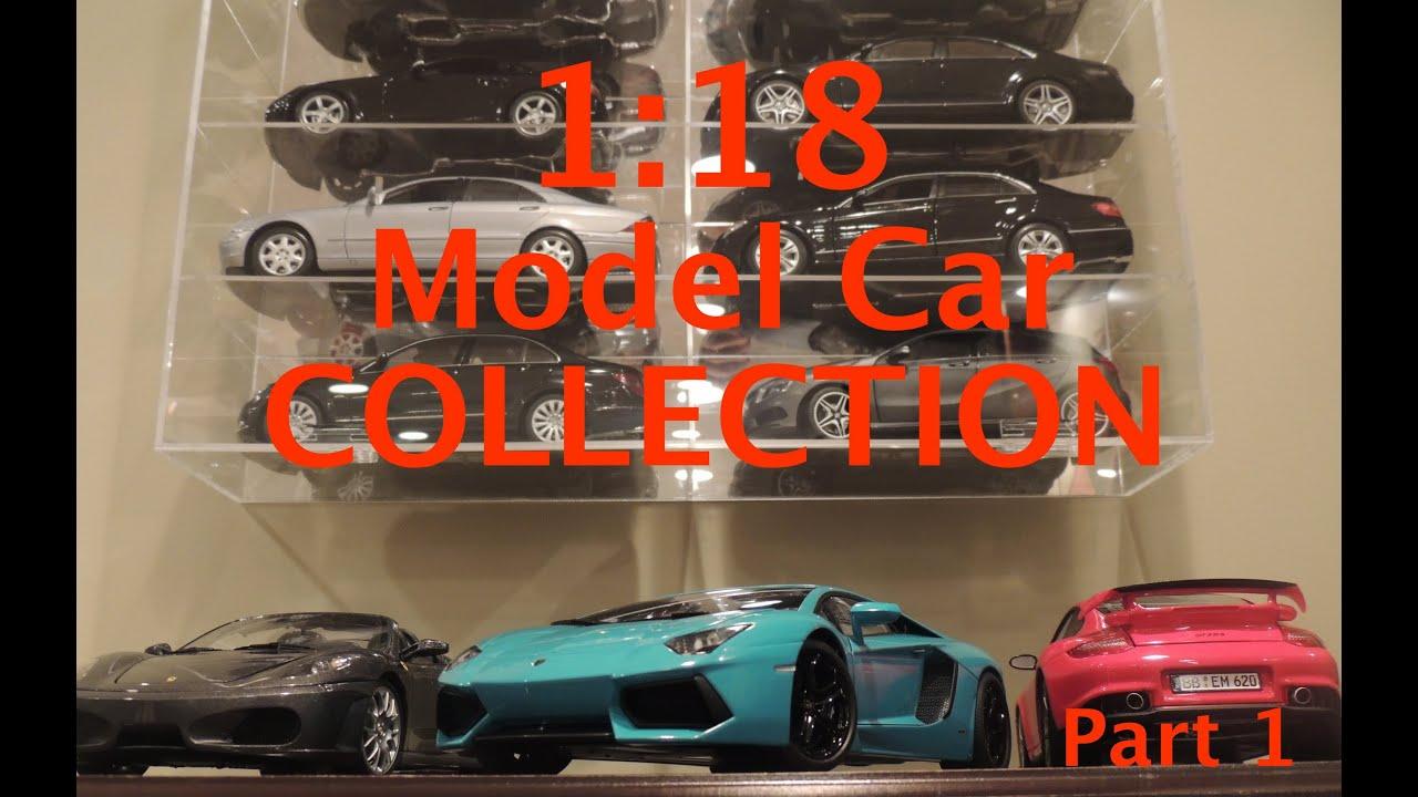 1 18 model car collection part 1 youtube. Black Bedroom Furniture Sets. Home Design Ideas