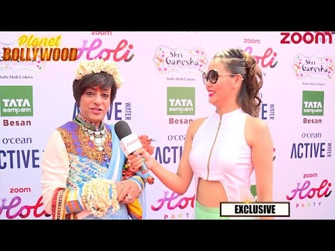 Rohit Verma At Zoom Holi Party 2017 | Exclusive Interview