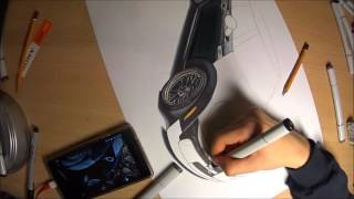 mini cooper s drawing