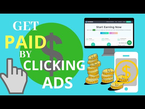 Get Paid by Clicking Ads 2019 with proof of payment