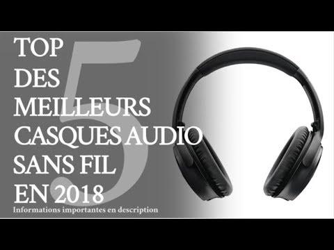 Top 5 Des Meilleurs Casques Audio Sans Fil En 2018 Youtube