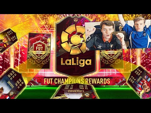 ON OUVRE NOS RÉCOMPENSES TOTS LA LIGA FUT CHAMPIONS Pack Opening! FIFA 21 Ultimate Team avec 0€ #141