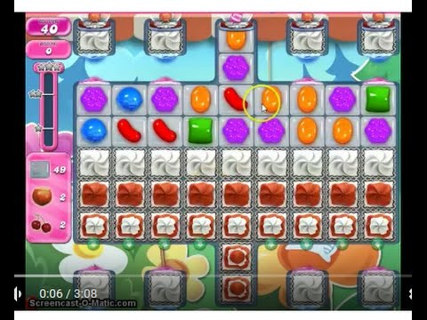 Candy Crush Saga Level 2489 No Boosters