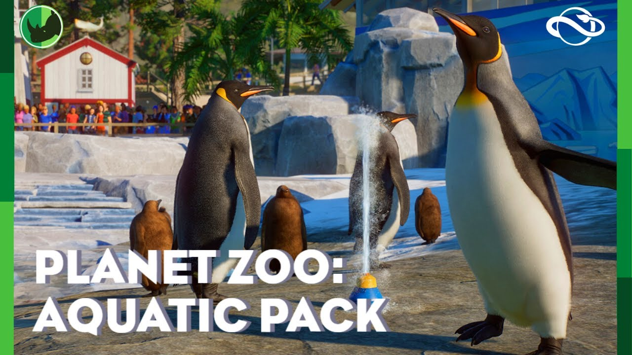 🐧 Penguins, Seals, Deep Diving and more!! New Planet Zoo: Aquatic Pack Overview and Discussion!!