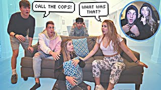 HOME INVASION PRANK ON FRIENDS! **GONE TOO FAR**