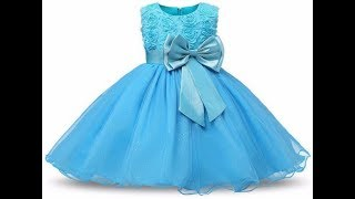 Cute Angel Baby's Frocks With Soft Silk Clothes || || Party Wear Baby Frocks Designs Collections