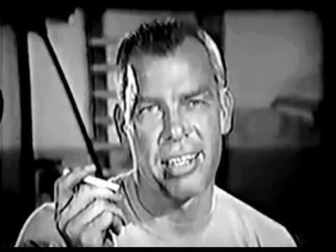 Lee Marvin - Vintage cigarette commercial
