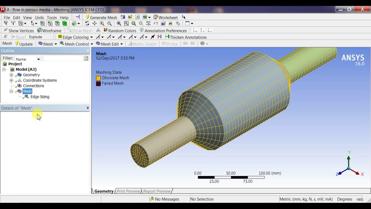 ANSYS Fluent Tutorial: CFD analysis of Flow in a Porous Media