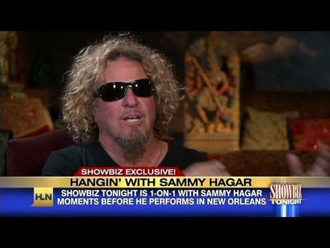 Showbiz exclusive with Sammy Hagar