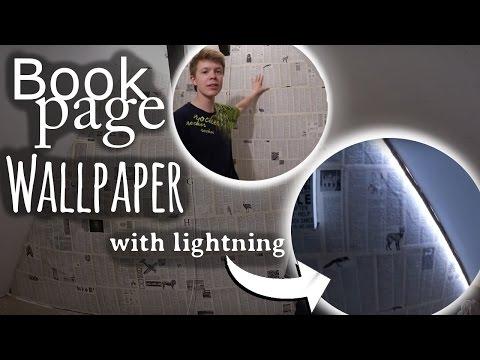 Amazing Book Page Wallpaper📚 [DIY]