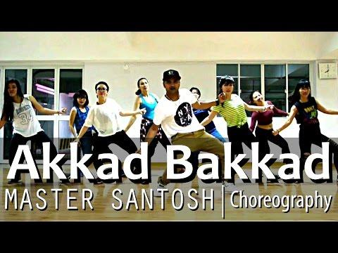 Akkad Bakkad | DJ Badshah, Neha Kakkar | SK Choreography