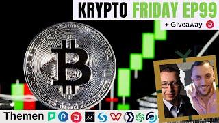 KRYPTOWÄHRUNG News I Krypto Friday Ep99: Masternode & Bitcoin News deutsch I DeFi deutsch