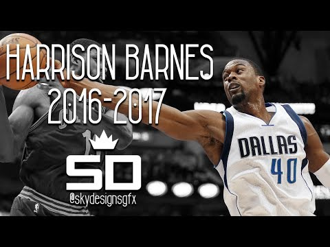 Harrison Barnes Official 2016-2017 Season Highlights // 19.2 PPG, 5.0 RPG, 1.5 APG