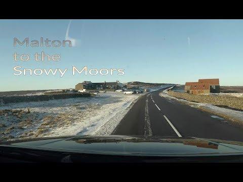 Malton to the snowy North York Moors