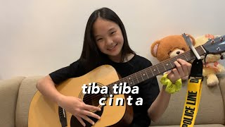 Download Lagu Tiba Tiba Cinta - Maudy Ayunda || Nadine Abigail (Acoustic Cover) mp3