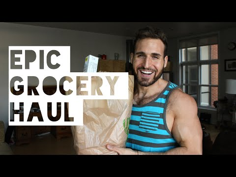 Healthy Grocery Haul Vlog | The Diet Chef's Epic Grocery Haul
