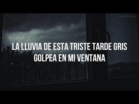 TRISTE TARDE GRIS - José José (LETRA)