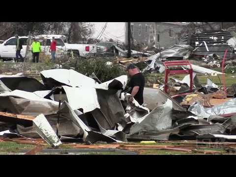 12-16-2019 Alexandria, LA - Major Tornado Damage
