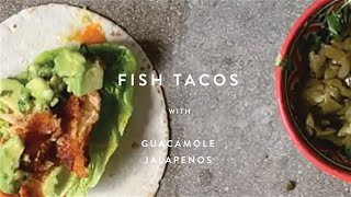 The Best Way to Use your Frozen Supplies | Fish Tacos  | WM . Quarantine Cuisine | #stayhome #recipe