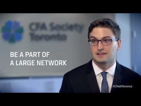 I am a CFA Society Toronto Member