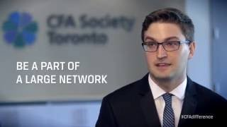 I am a CFA Society Toronto Member