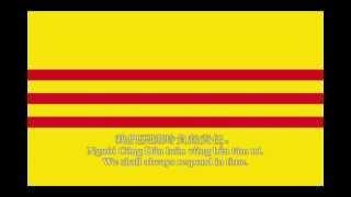"National Anthem of Republic of Vietnam (South Vietnam) ""Call to the Citizens""  (Lyrics Correction)"