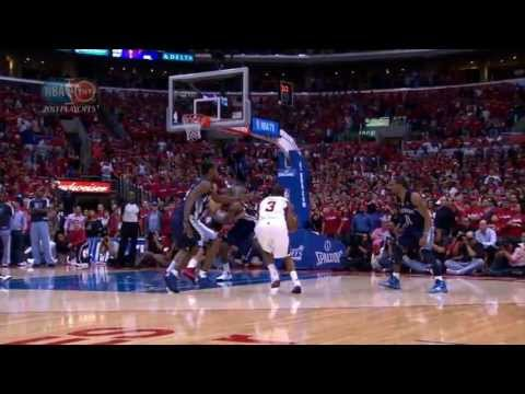 Chris Paul Hits the Walk-Off Game Winner vs the Grizzlies in Game 2 of the Playoffs Round One (04/21/2013)
