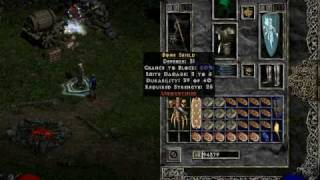 Diablo 2 - what to do when your inventory is full