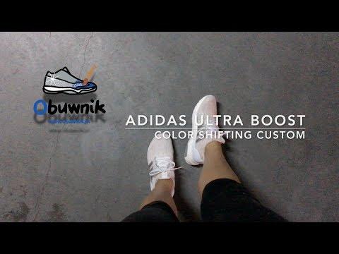 40d872853c55 Adidas Ultra Boost COLOR SHIFTING custom! - YouTube