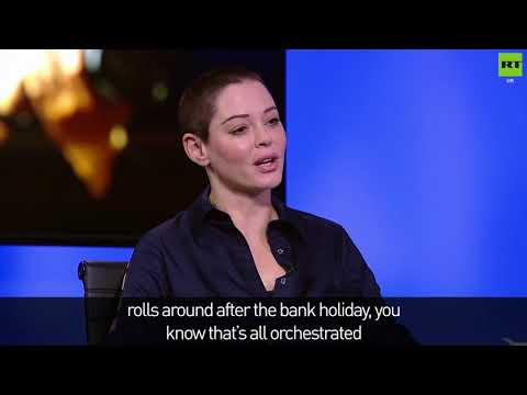 Rose McGowan talks about Harvey Weinstein's arrest