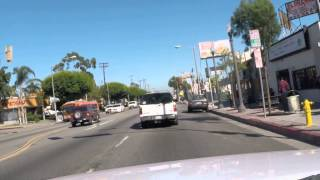 DRIVING IN EAST LOS ANGELES TO WATTS HD
