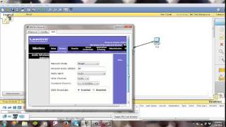 Konfigurasi Access Point Pada Cisco Packet Tracer