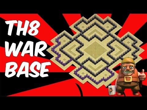 Th8 War Base 2016 Anti Everything-Anti Gowipe+Anti 3 Star+Anti Dragon+Anti Hog&2 Star