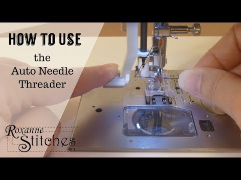 Sewing Machine Needle Auto Threading YouTube Amazing Threading A Sewing Machine Needle