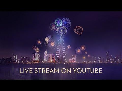 Burj Khalifa & Downtown Dubai 2015 New Year's Gala