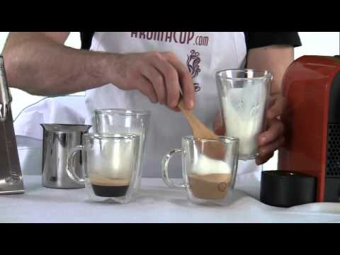 The Easiest Way to make Caffè Latte or Cappuccino