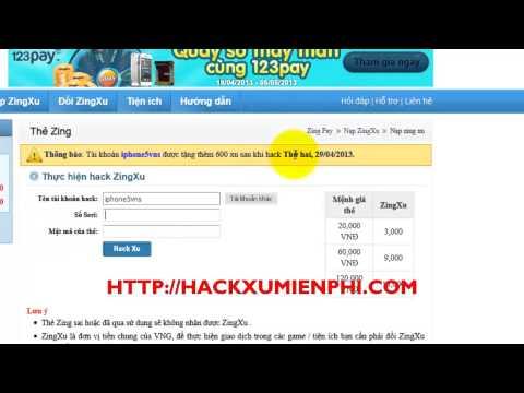 Hack Xu Long Tướng 2013   Hack Long Tướng Zing Me Phiên Bản Mới Nhất