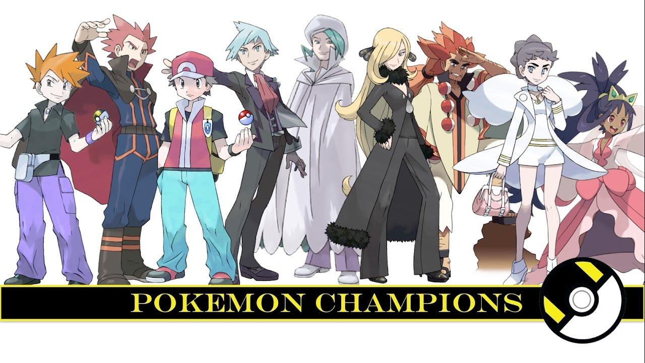All Pokemon Champions - YouTube
